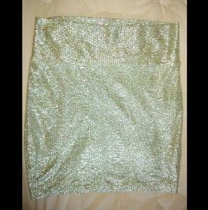 Sparkle Bodycon Skirt!